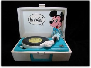 a disney record player-- I totally had one of these.  wonder what happened to it.